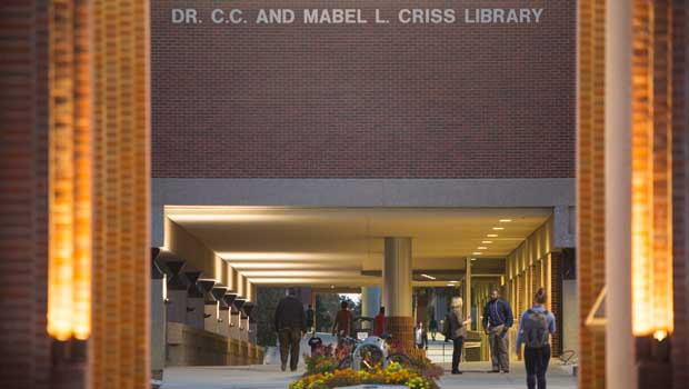 Criss Library Announces New Student Research Award | News | University