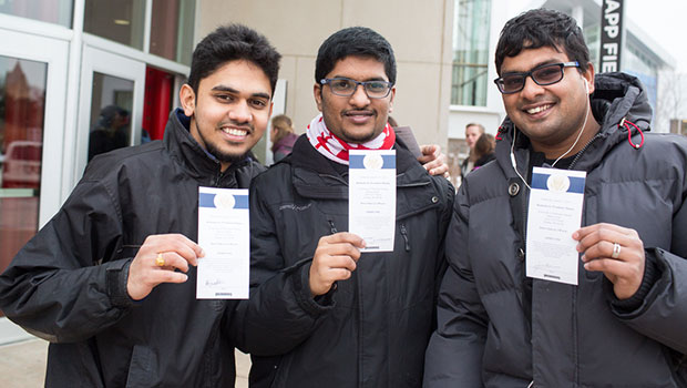 UNO students with tickets to President Obama event at Baxter