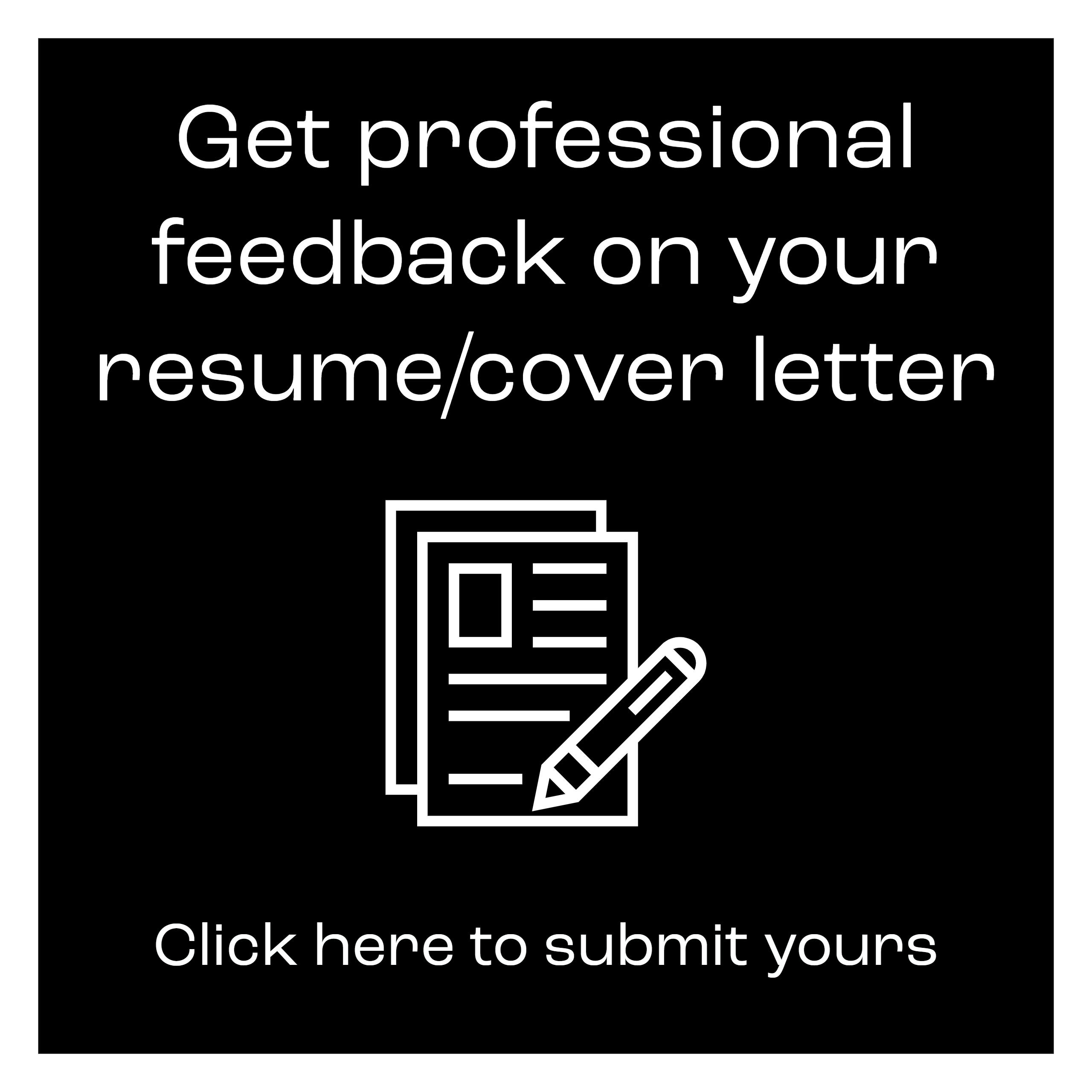 Résumé and Cover Letter Resources | Student Life ...
