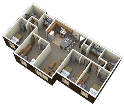 Bedrooms unlimited best free home design idea for Floor plans brown university