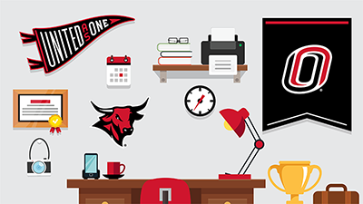 click to download the zoom background uno desk